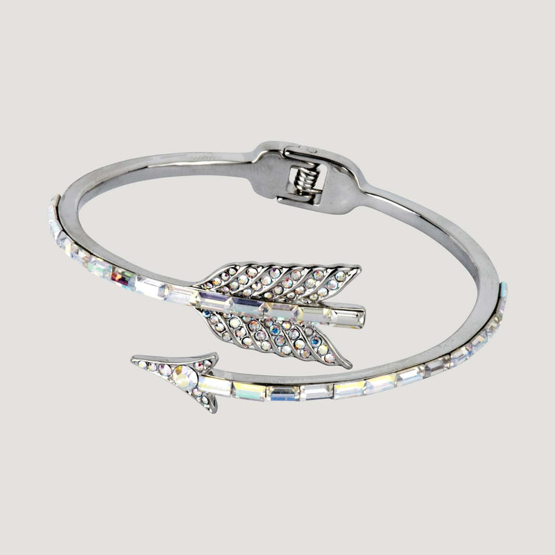Adjustable Crystal Arrow Bracelet