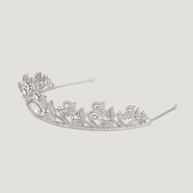 Crystal Flowers Assorted  Tiara