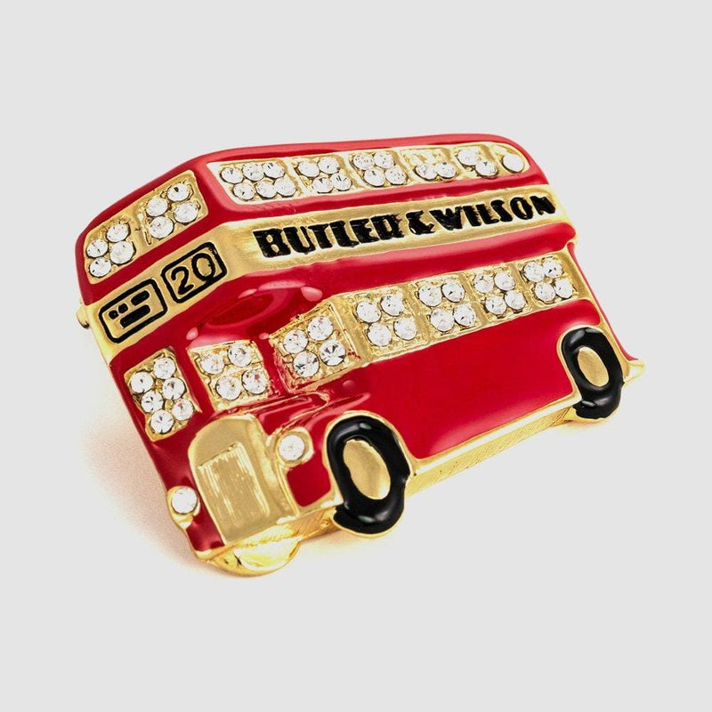 London Bus Brooch