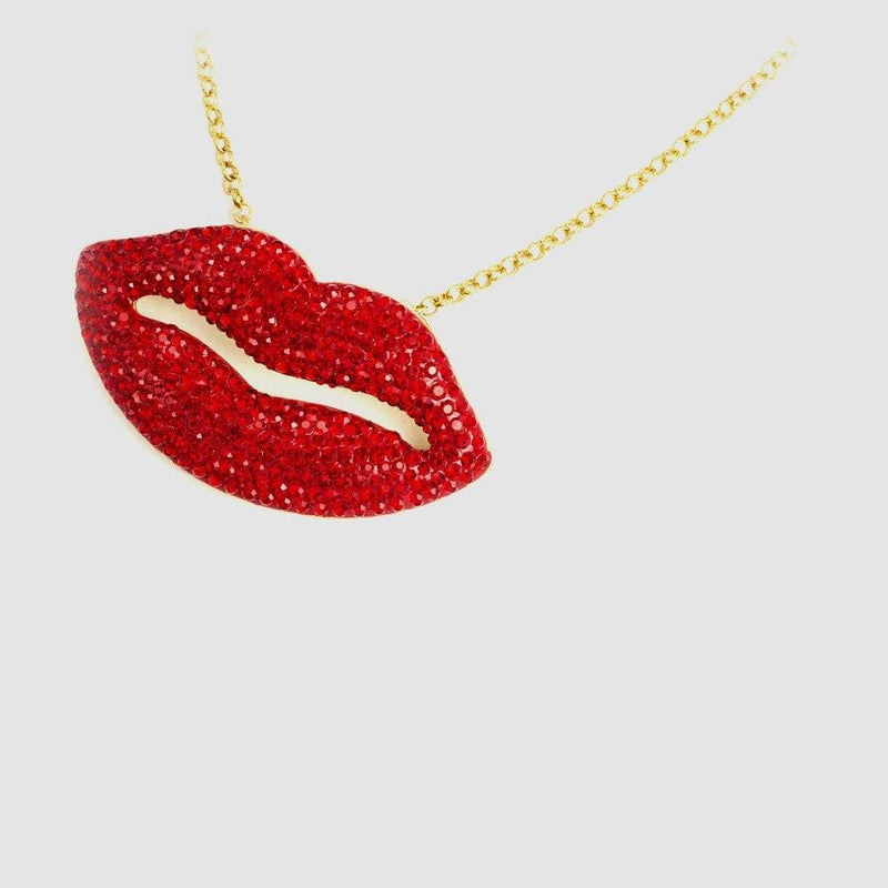 Medium Lips Pendant