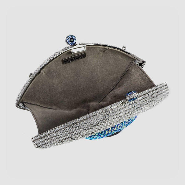 Swarovski Crystal Eye Clutch Bag