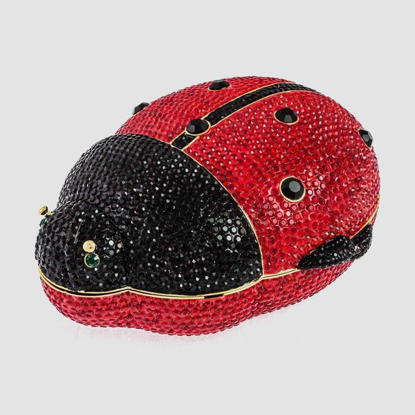 Crystal Ladybird Clutch Bag