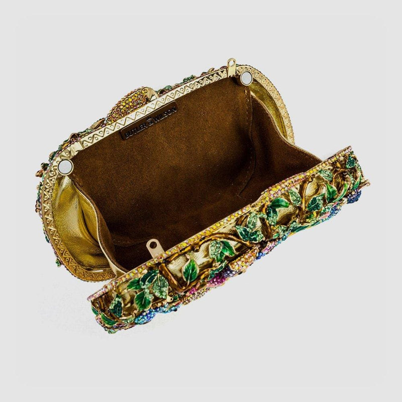 Swarovski Crystal Multi Animal Clutch Bag