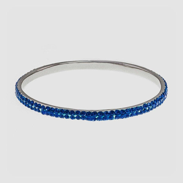 Two Row Crystal Bangle