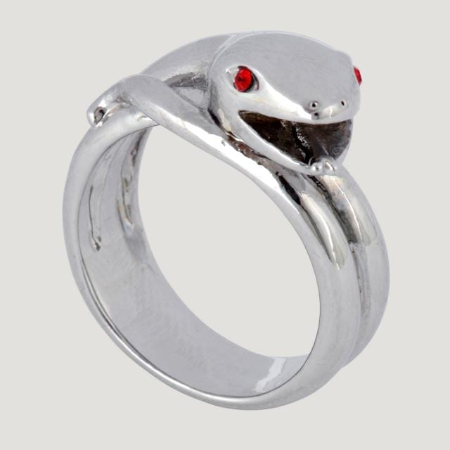 Wrap Metal Snake Ring