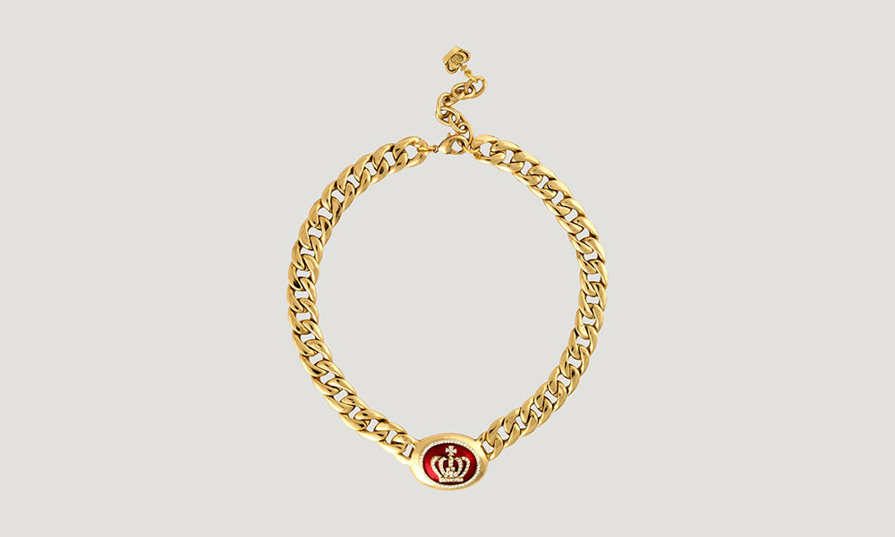 Crown Logo Chain Necklace
