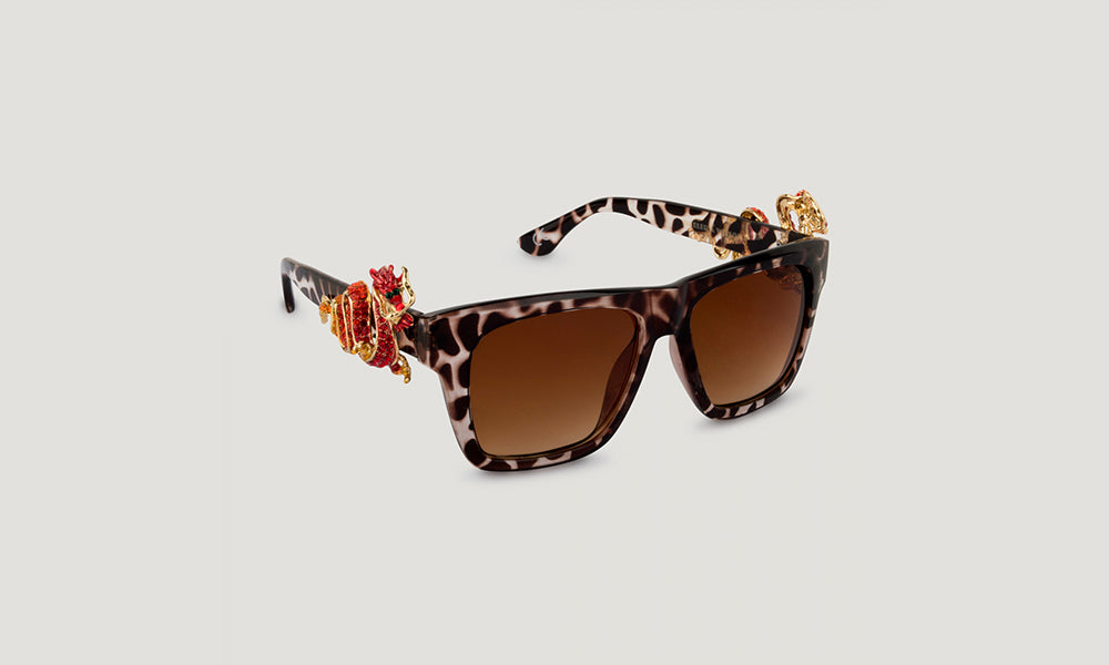 Butler & Wilson Dragon Sunglasses