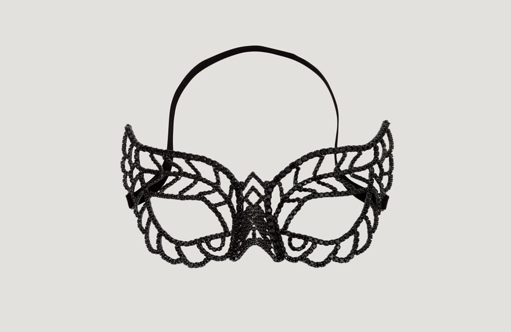 Crystal Pointed Eye Mask