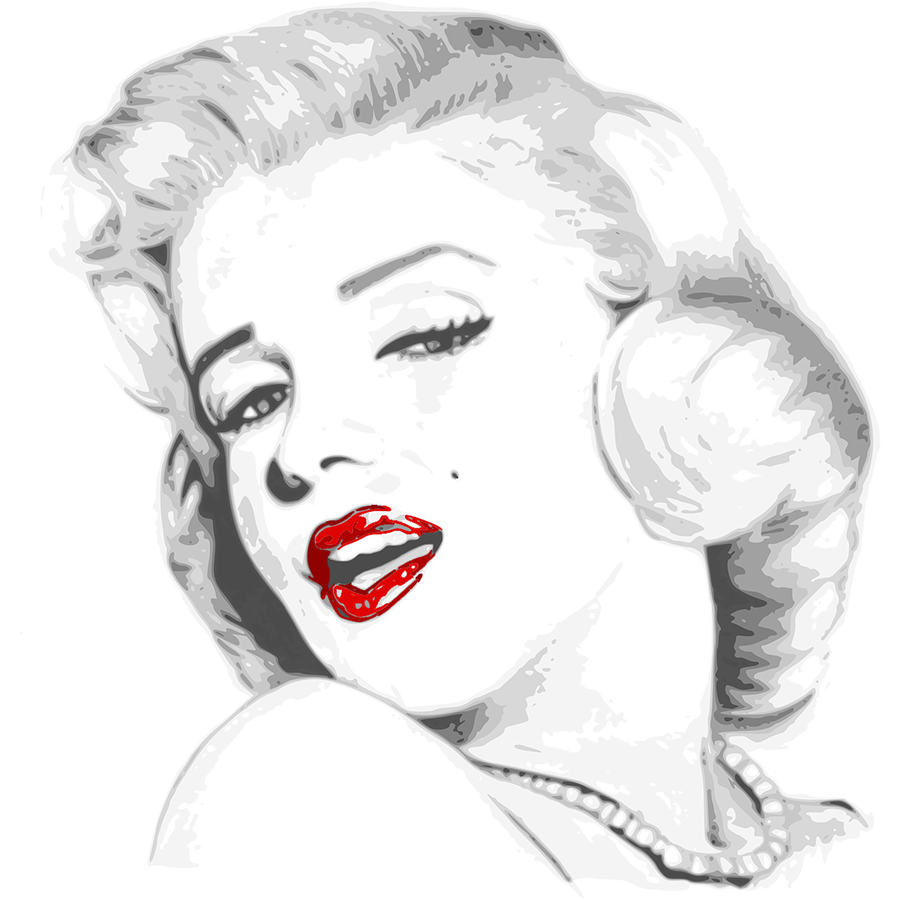 red-lips-jewellery-marilyn-monroe