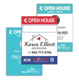 Open House Sign Design