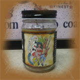 Man's Ruin: Body Art Lover's 8.5 Ounce Jar Candle