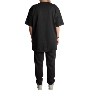 "Heavy Cotton Oversize Tee ""Smolik Statement Print"""