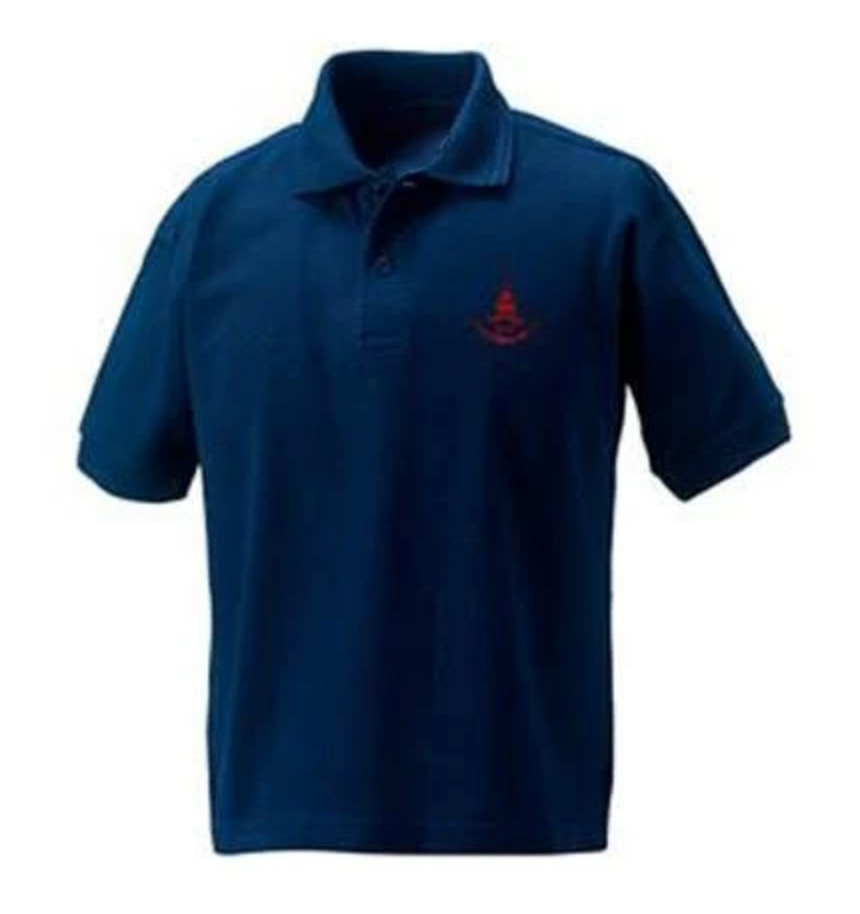 Downs Junior Polo - Navy
