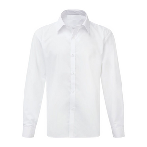 White Long-sleeved Shirt (Chest Size)