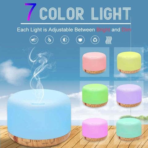 How to use a humidifier; Ultrasonic Cool Mist Maker Fogger Humidifier LED Lamp - HahaGet
