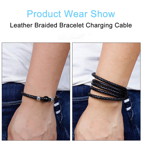 Fashion Wearable USB Charging Bracelet Charger Cable HahaGet