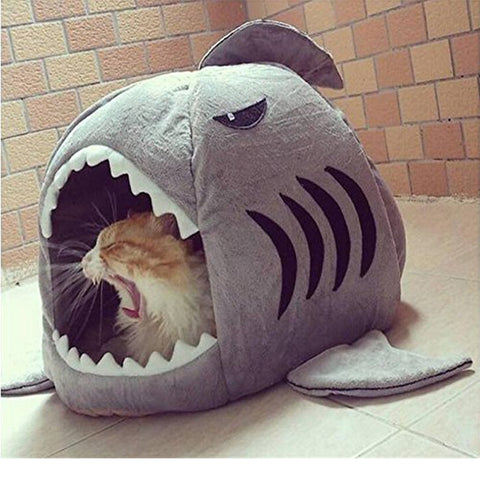 Shark Bed For Cats Dogs