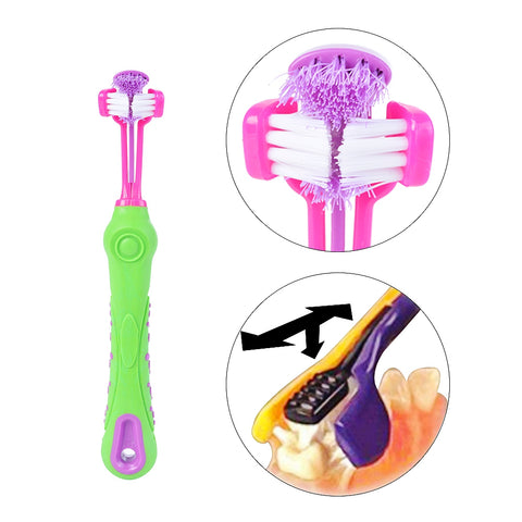 Dog Pets Toothbrush Teeth Cleaning HahaGet