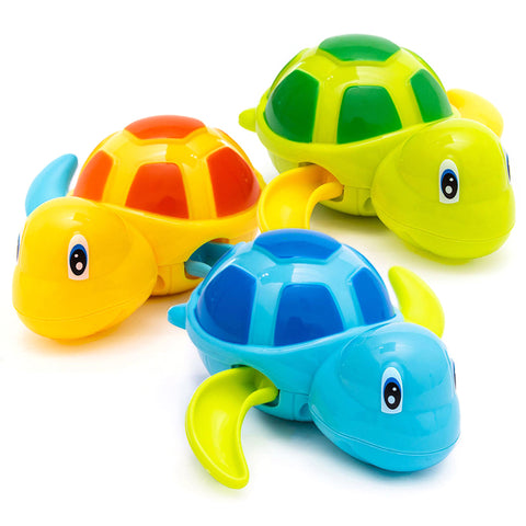 Cute Cartoon Animal Tortoise Baby Water Toys
