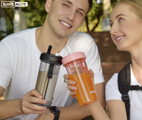 Creative Portable Dual-Use Water Bottle HahaGet