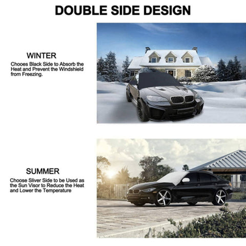 Snow Cover For Windshield | HahaGet
