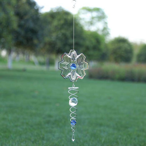 3D Rotating Wind Chimes HahaGet