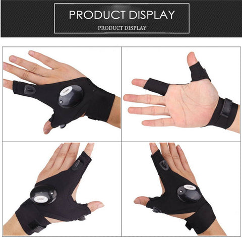 Glove with LED Light | HahaGet