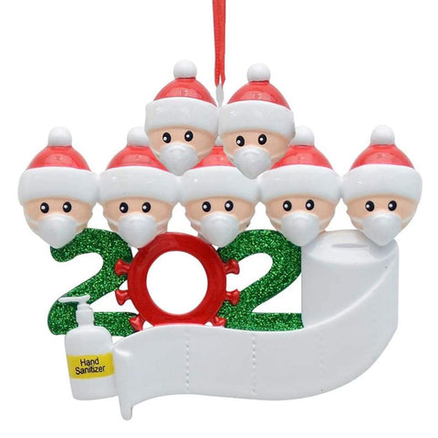 2020 Commemorative Family Christmas Tree Ornament, All You Want For Christmas.