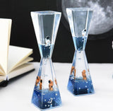 Astronaut Floating Oil Hourglass Sand Timer Liquid Bubbler/Timer - HahaGet