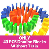 Automatic Laying Domino Brick Train Car Set Children's Educational Toys - HahaGet