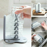 Suction Wall Lazy Creative Cup Bottles Cleaning Brush Kitchen Tool - HahaGet