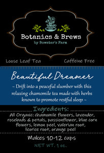 Beautiful Dreamer (loose leaf herbal tea blend)
