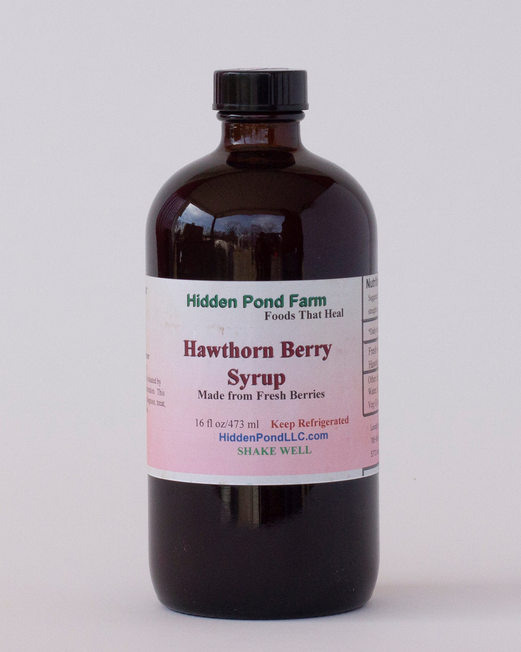 Hawthorn Berry Syrup by Abington Meadows