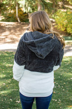 Load image into Gallery viewer, Sherpa Hoodie | Charcoal