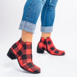 ALLY-1 BUFFALO PLAID RED