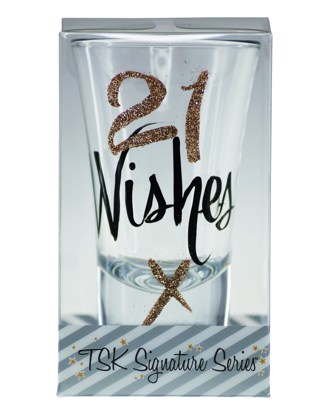21 Wishes Shot Glass
