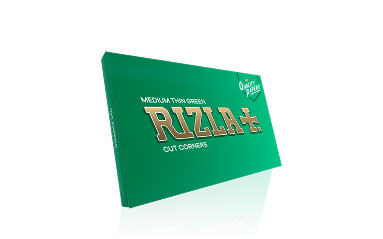 Rizla Medium Thin Green Double