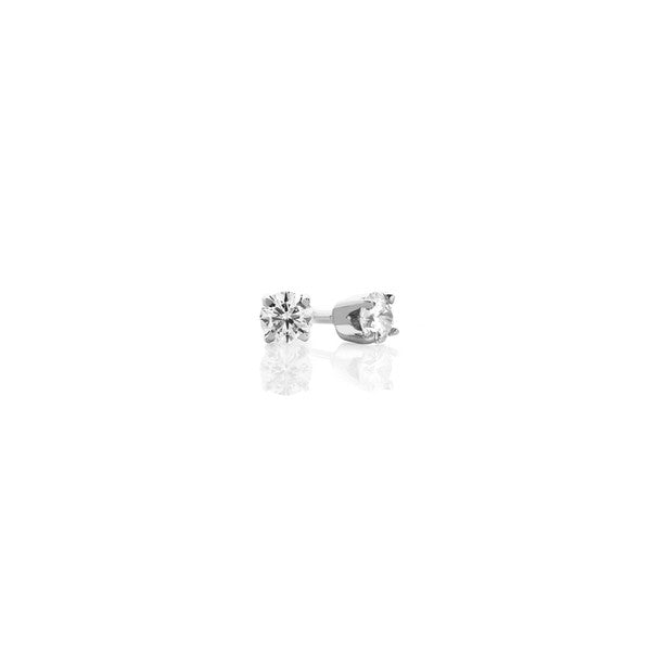 Diamond Earring Studs - 0.18 ct (white gold)