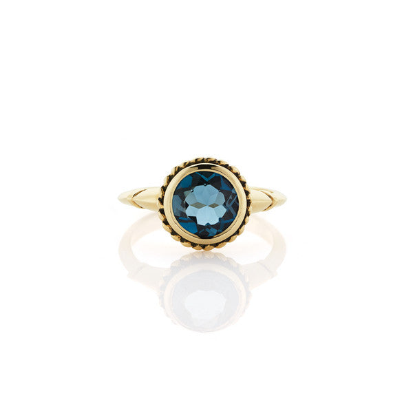 Topaz Dress Ring - 9ct Yellow Gold