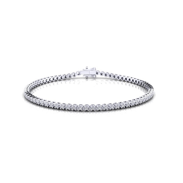 Diamond Tennis Bracelet (9ct white gold, 2.00ct TDW)