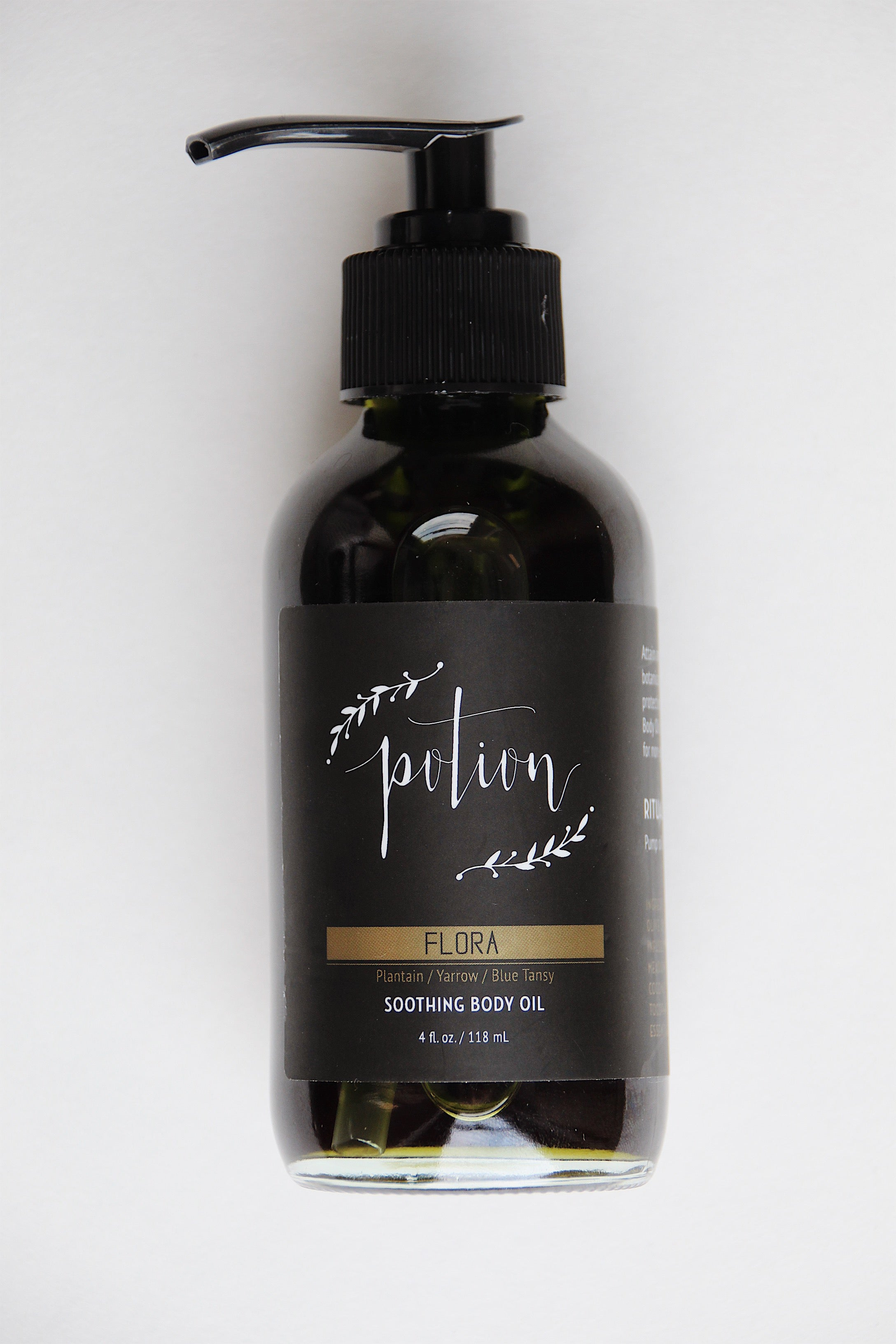 Flora Soothing Body Oil