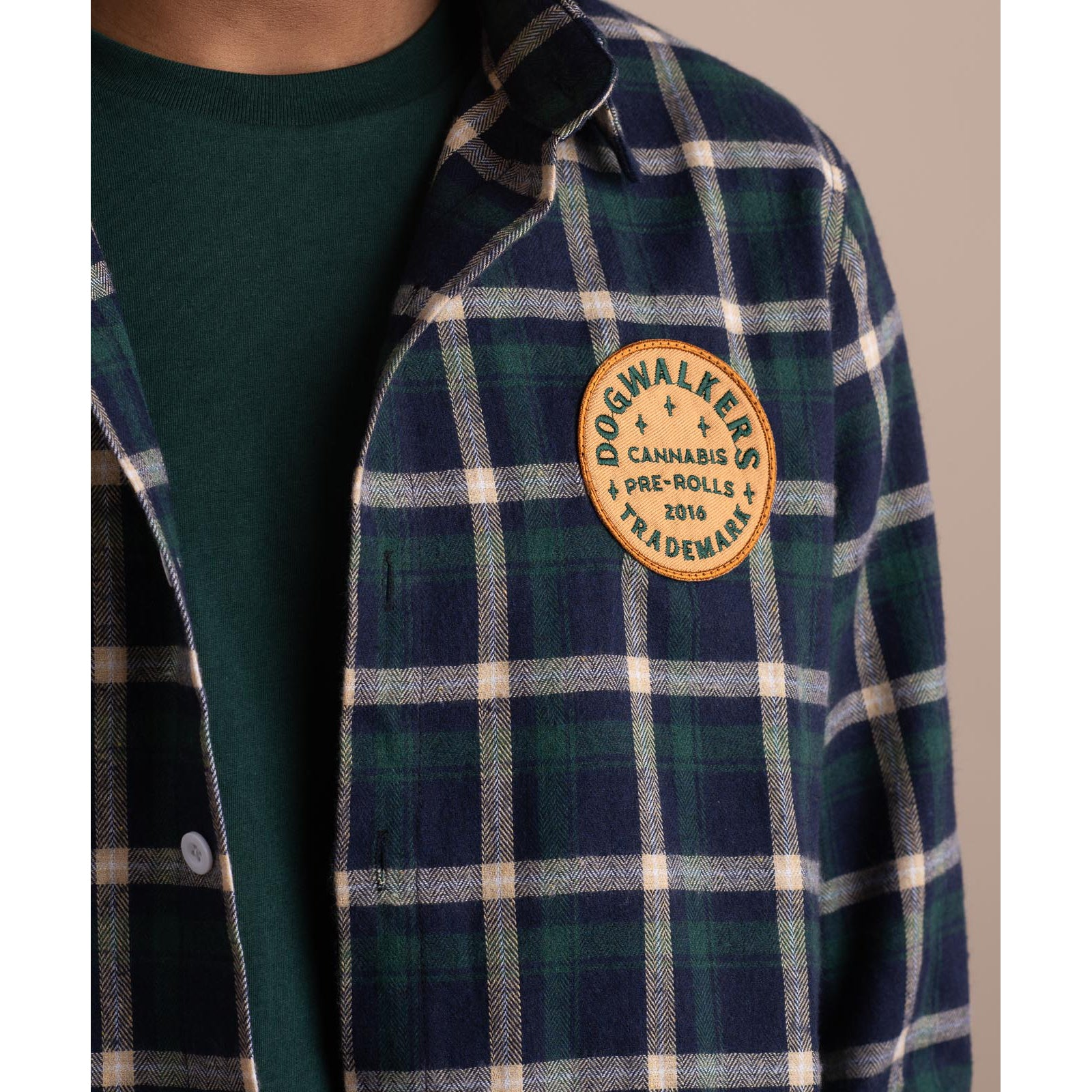 Dogwalkers Patch Flannel