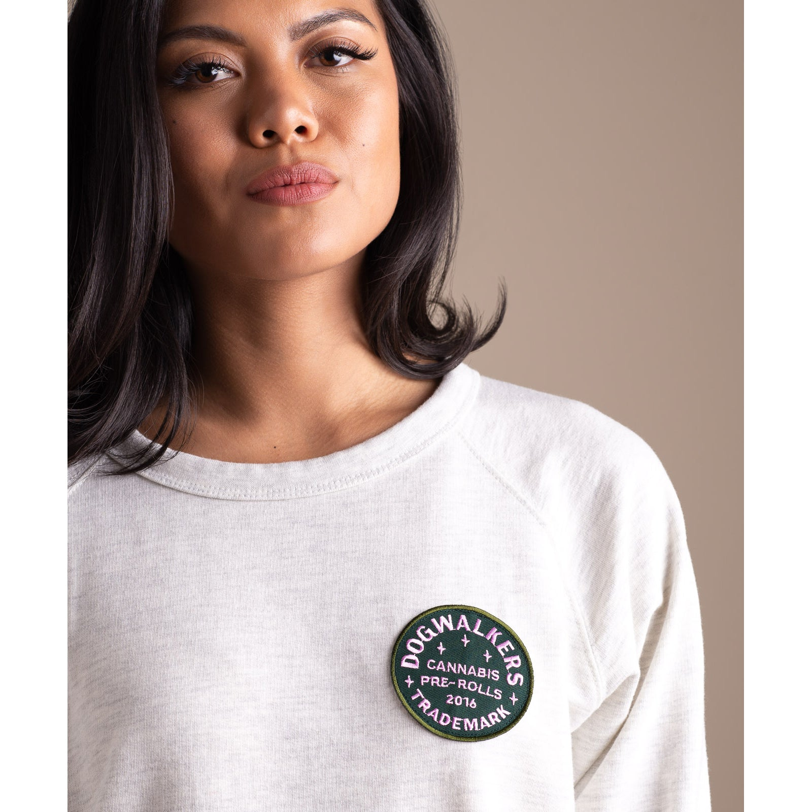 Dogwalkers Butter-wash Crew Neck