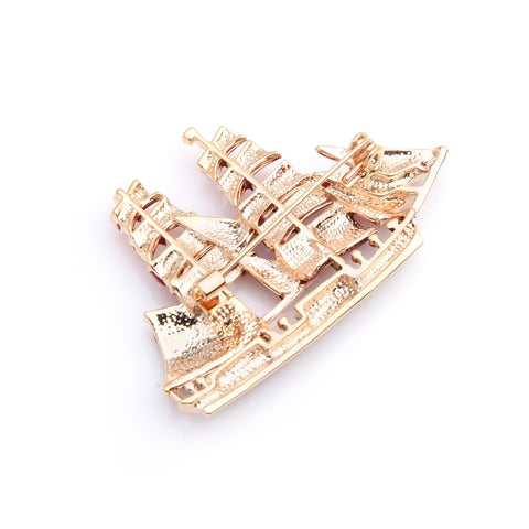 The Legendary Ship  Brooche Pin