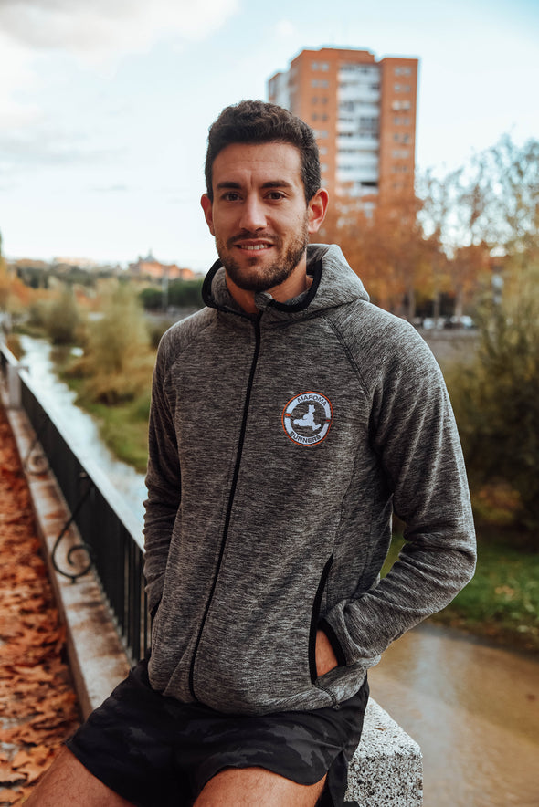 Micropolar Hoodie Mapoma Runners - Hombre