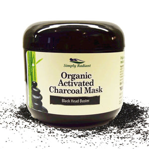 Organic Activated Charcoal Face Mask