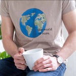 The World Is Ours Globe Organic Unisex T Shirt