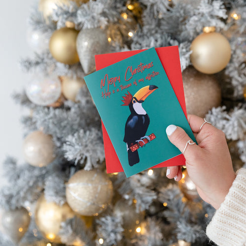 Toucan Of My Affection Christmas Card