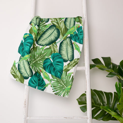 Tropical Parakeet Tea Towel