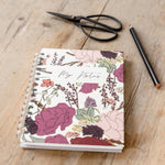 Personalised Floral Hardback Notebook